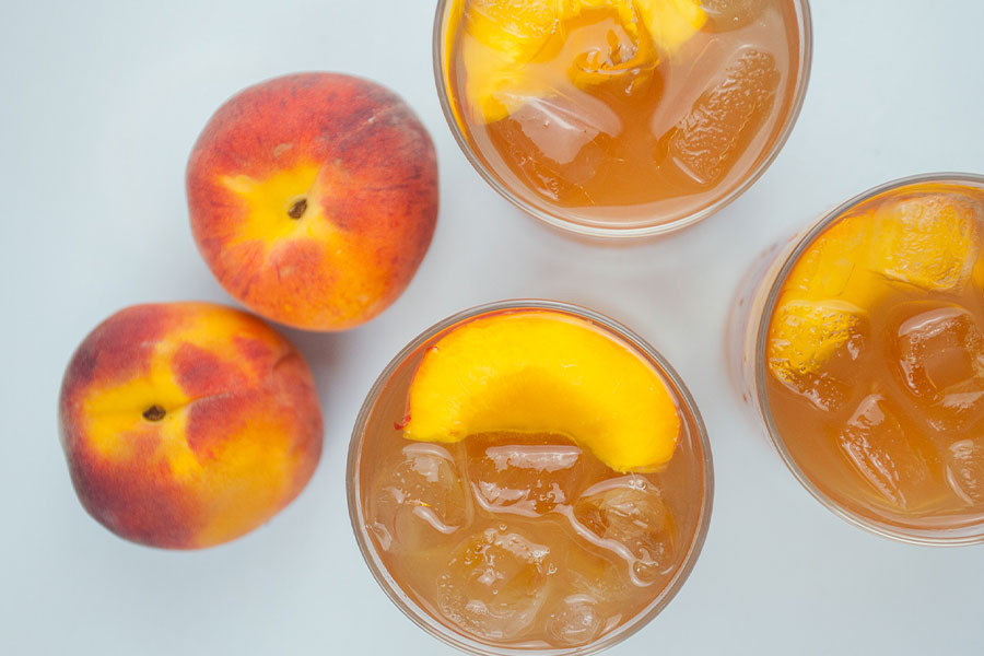 Peach Balsamic Bellini