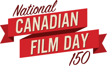 National Film Day Canada's 150 Logo