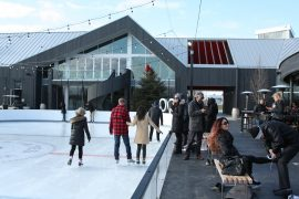 Wayne Gretzky Estates Outdoor Rink