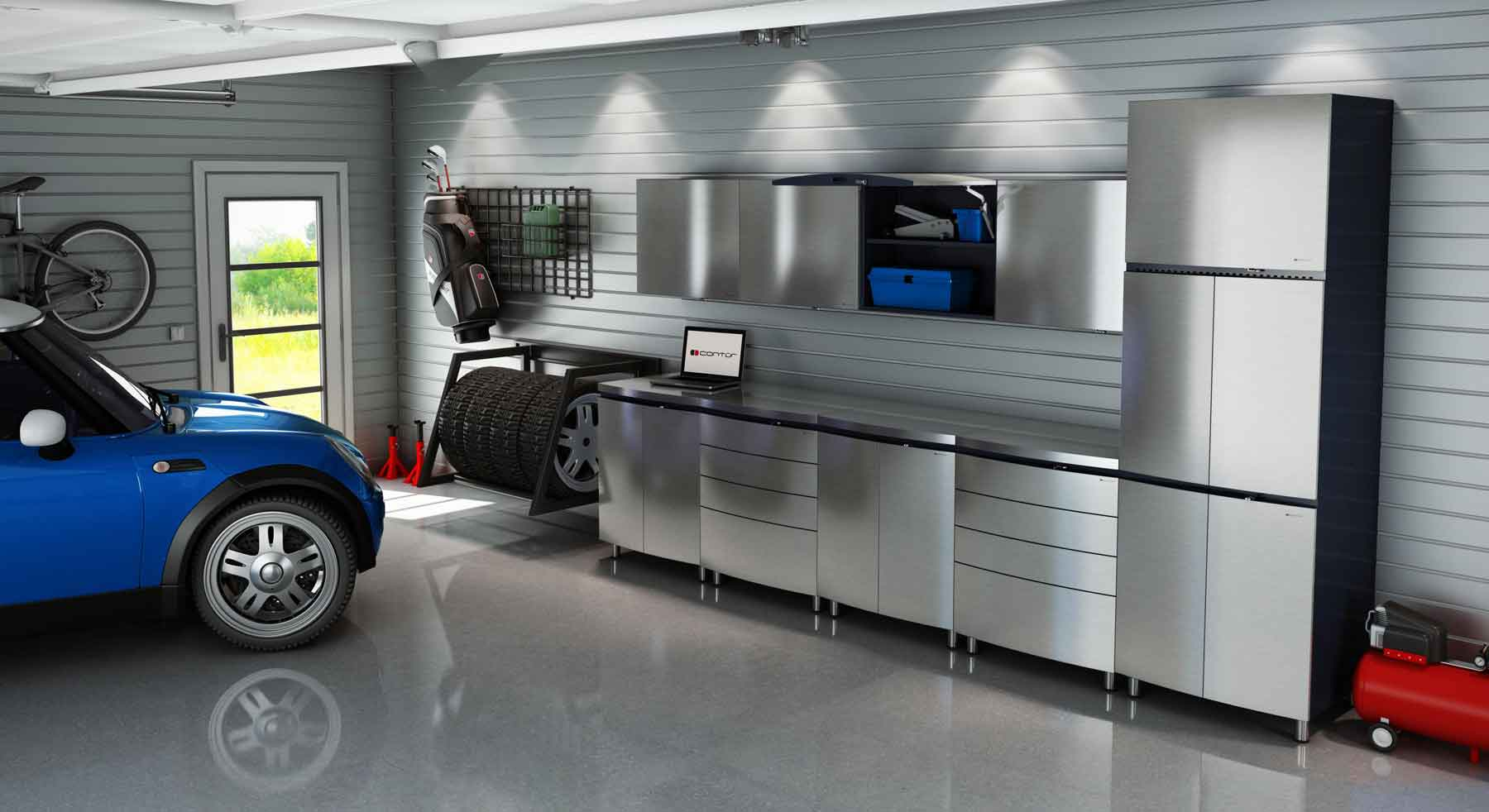 garage style the man cave goes modern look local magazine garage style the man cave goes modern