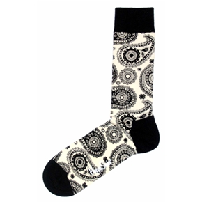 Stylized bold socks are also great for formal occasions