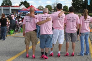 Oakville Gents: Time to get pumped! Oakville's 4th Annual Hope in High Heels Walk is Coming – and We'd Like Your Support.