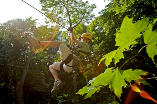 Zip Lining - Look Local Getaway