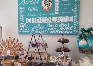 choc display table