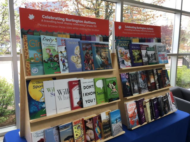 Books by local writers in Burlington