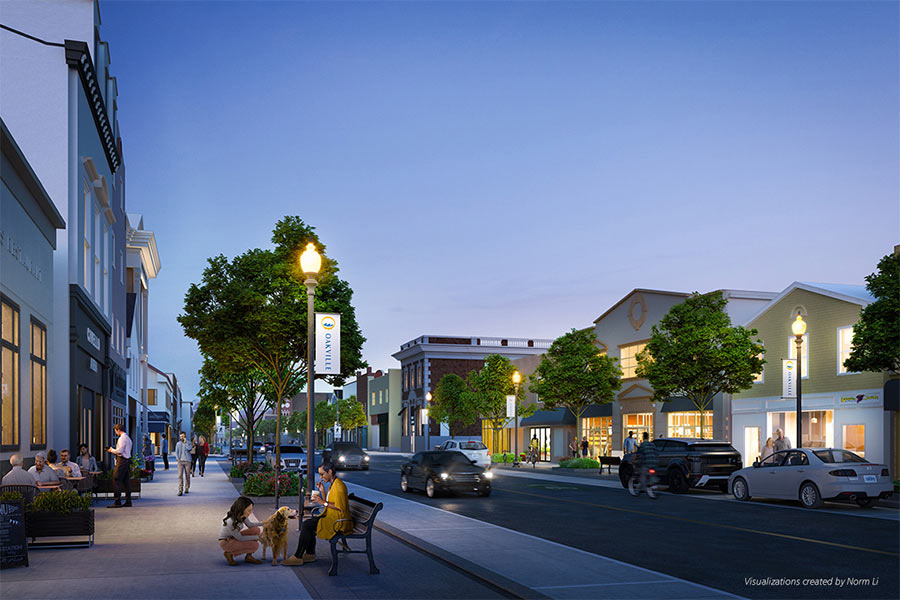 Lakeshore Road Streetscape Revitalization